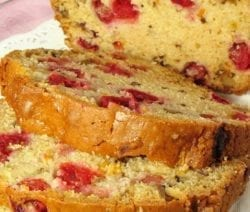 Slow Cooker Orange Cranberry-Nut Bread #slowcooker #crockpot #desserts #bread #homemade #delicious #easy #simple #healthy