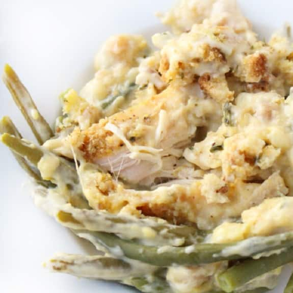 slow cooker creamy chicken breasts with green beans