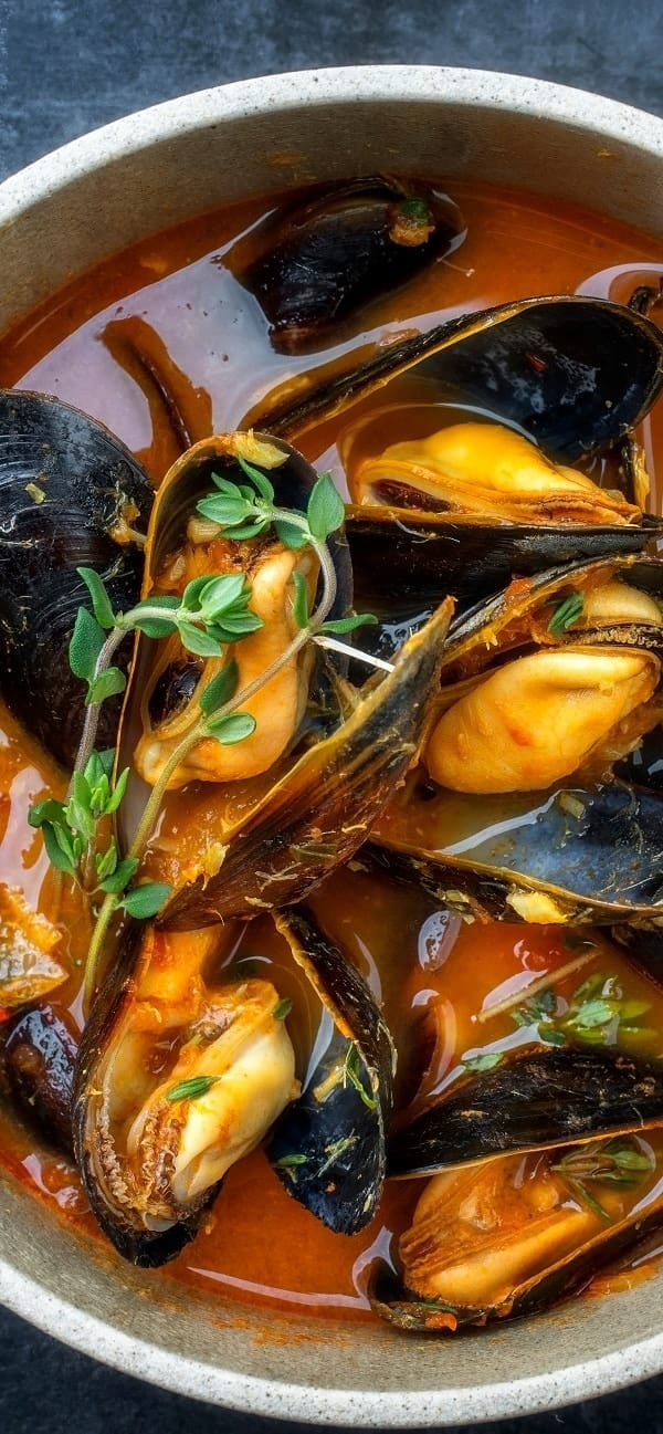pressure cooker mussels fra diavolo