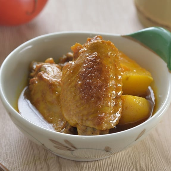 chicken wings potato stew