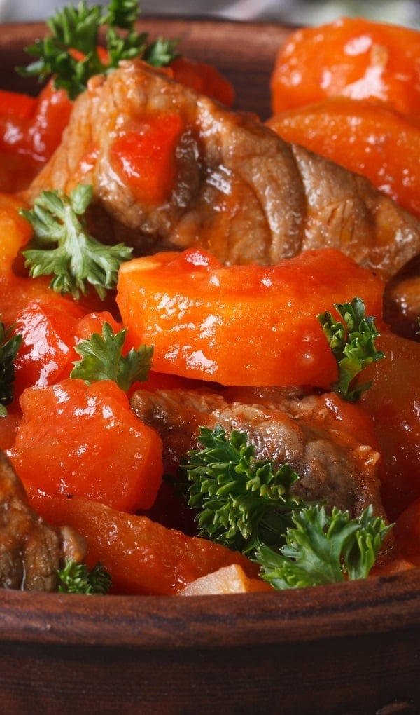Pressure Cooker Chipotle Beef Stew #pressurecooker #instantpot #dinner #lunch #homemade #beef #stew #delicious #recipes #easy