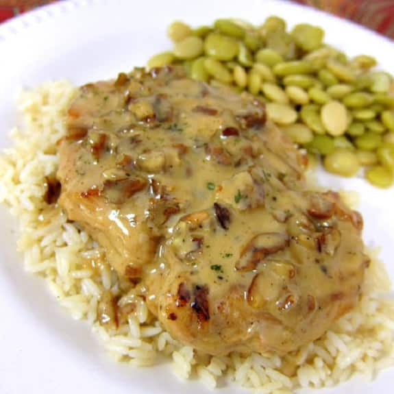 toasted pecan chicken breasts