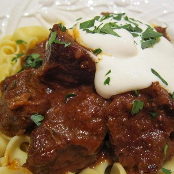 three-meat goulash