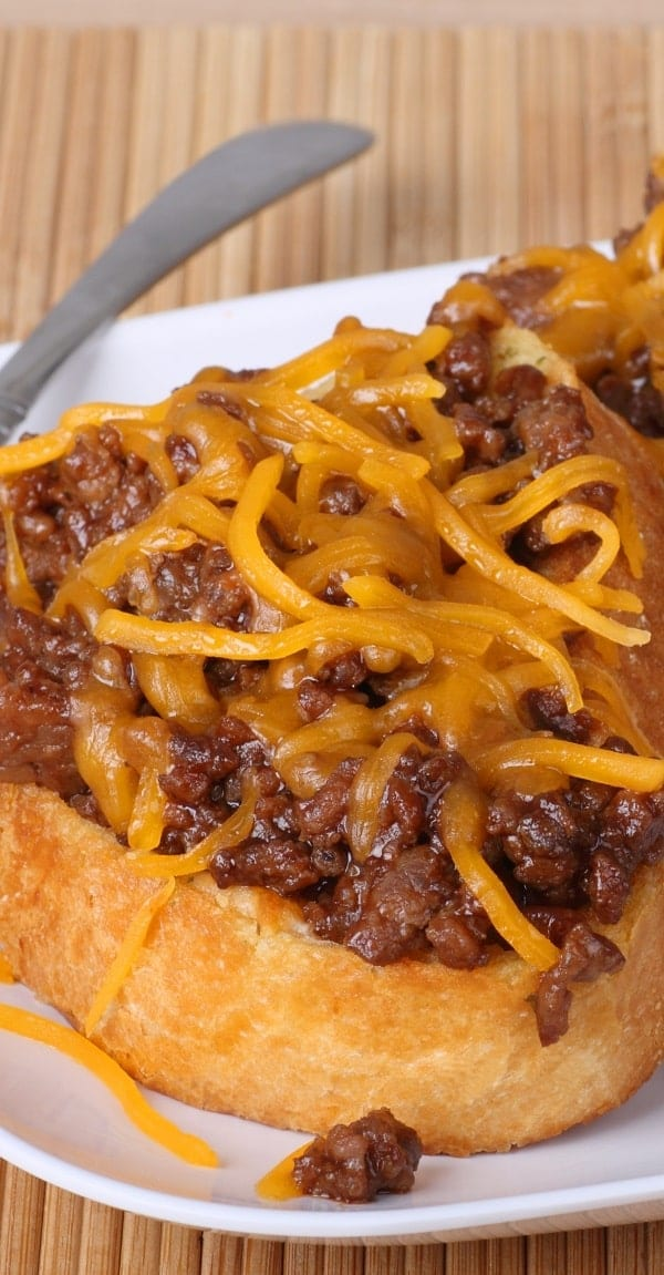 slow cooker campfired-up sloppy joes
