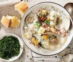 slow cooker nova scotia seafood chowder
