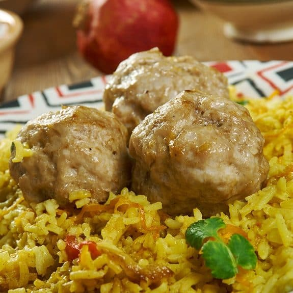 pressure cooker lamb meatballs recipe