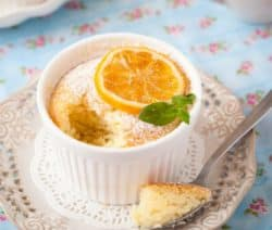 oven baked lemon souffle recipe