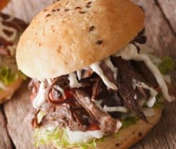 slow cooker pulled pork sandwiches recipe