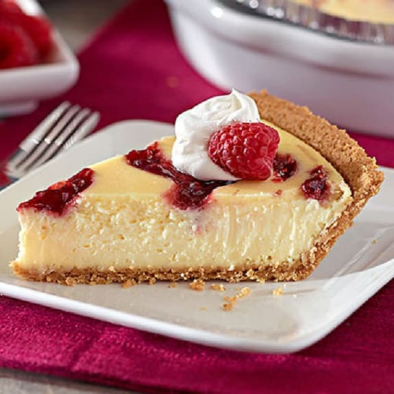 easy raspberry cheesecake recipe