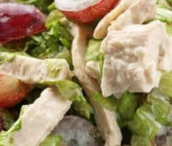 Easy Chicken Salad Recipe #salad #healthy #chicken #dinner #delicious #homemade #vegetables #fruits #lowcarb #weightloss
