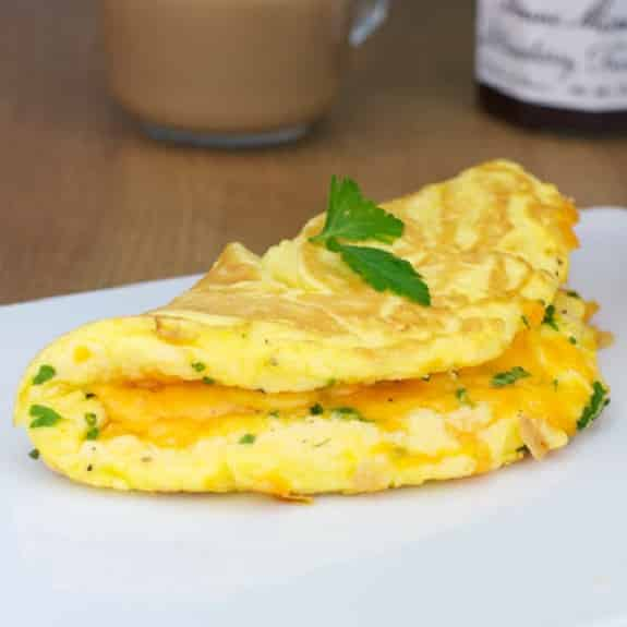 easy egg omelet recipe