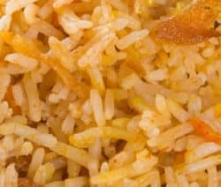 Easy Vegetarian Flavored Rice Recipe #vegetarian #vegan #healthy #dinner #homemade #rice
