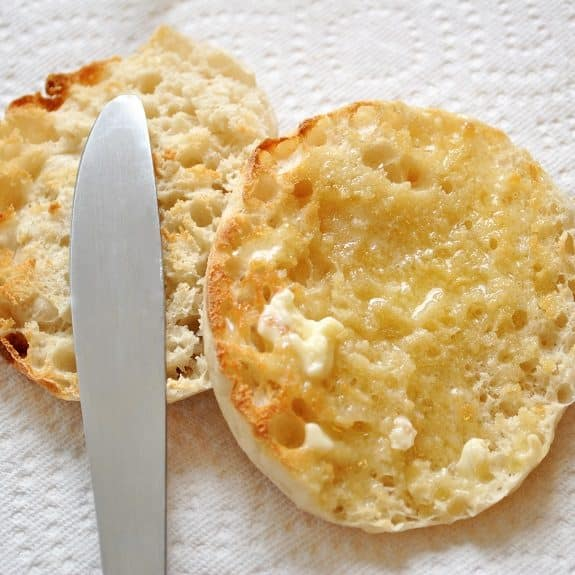 oven baked easy english muffins recipe