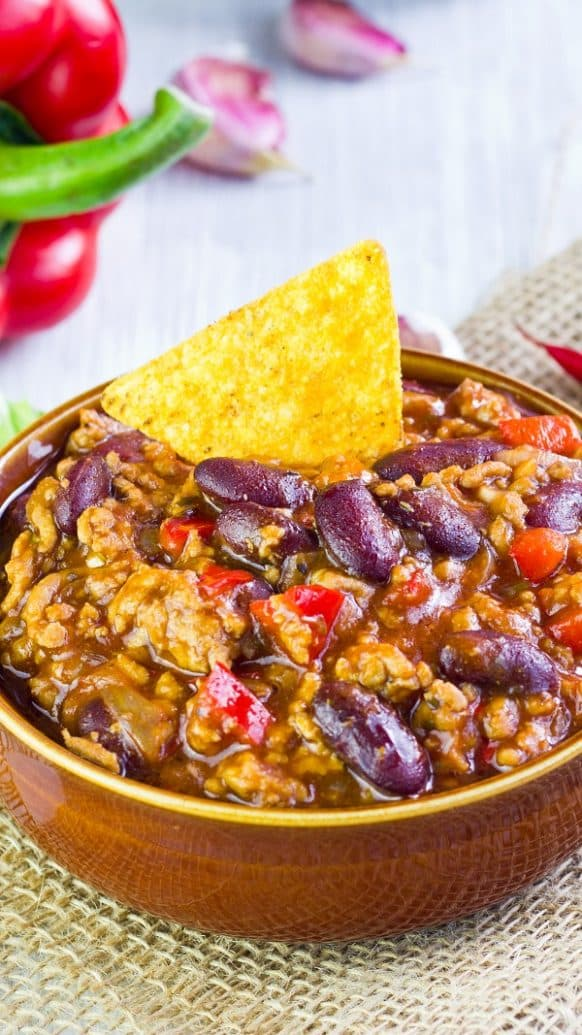 Pressure Cooker Simple Taco Soup Recipe #pressurecooker #instantpot #soup #dinner #healthy #homemade #delicious