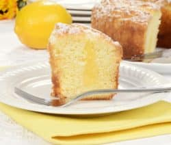 oven baked easy lemon pound cake recipe