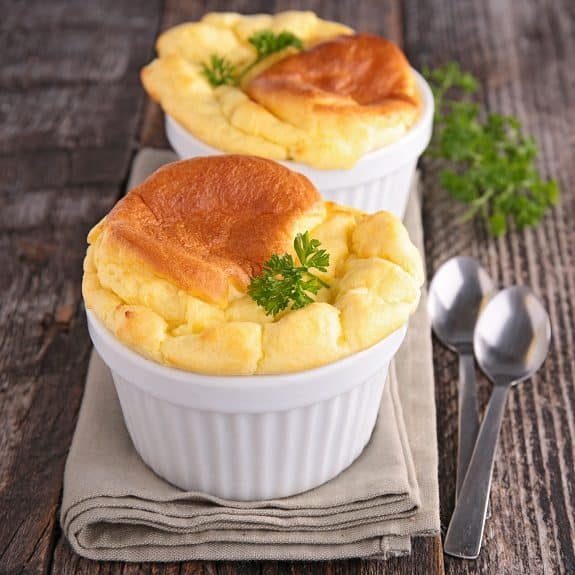 oven baked easy cheese souffle recipe