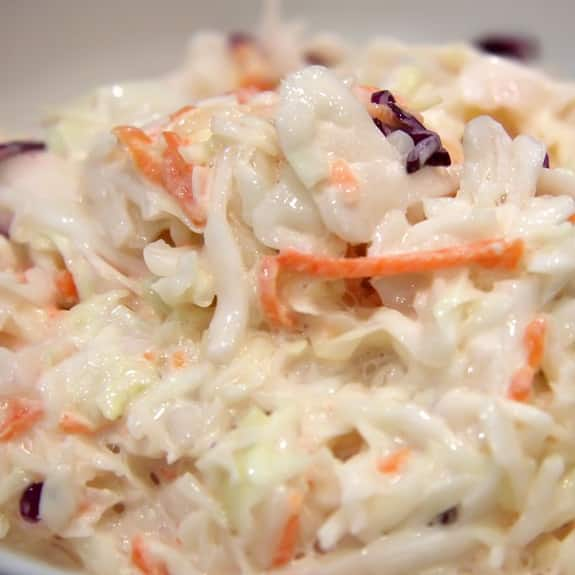 best creamy yogurt coleslaw recipe