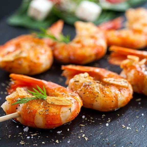 fried spicy shrimp appetizer recipe