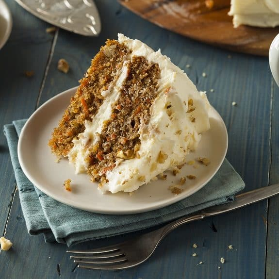 oven baked best carrot cake recipe