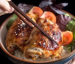 pressure cooker teriyaki chicken thighs recipe