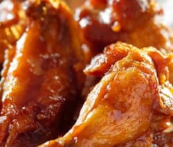 instant pot hoisin-ginger-chicken wings recipe #pressurecooker #instantpot #chicken #wings #dinner #appetizers