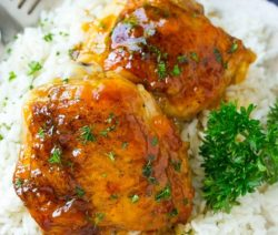 slow cooker apricot chicken thighs recipe