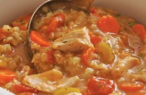 slow cooker chicken barley soup recipe