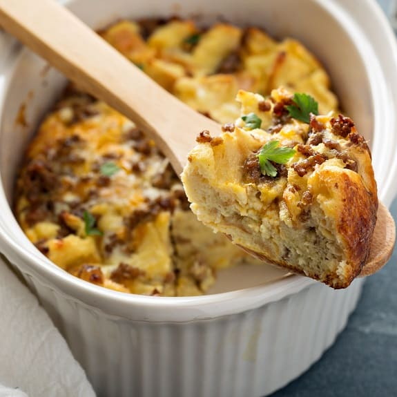 baked hashbrown sausage breakfast casserole recipe