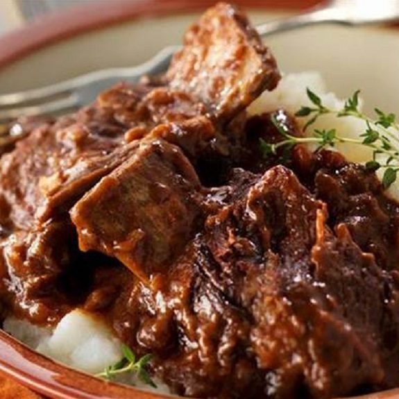 easy slow cooker beef short ribs recipe