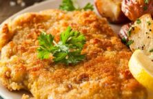 fried traditional chicken schnitzel recipe