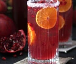 pomegranate-blood orange tequila cocktail recipe