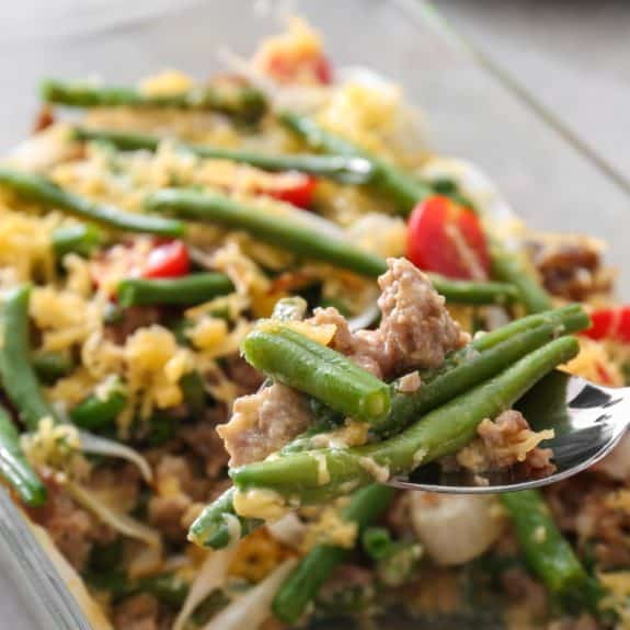 baked green bean casserole recipe