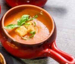 halogen oven baked tomato-pepper soup recipe