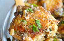 instant pot braised chicken thighs recipe