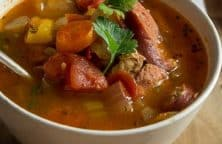 pressure cooker chicken sausage gumbo stew recipe