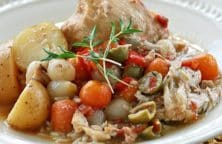 slow cooker mediterranean chicken stew recipe