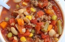 pressure cooker beef vegetable soup recipe