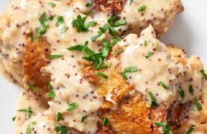 slow cooker creamy mustard chicken thighs recipe