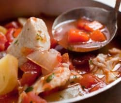 slow cooker tuscan fish soup recipe