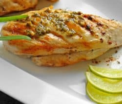 Pressure cooker tequila chicken breasts recipe. Chicken breasts with tequila, spices, and tomatillos cooked in an electric pressure cooker. #pressurecooker #instantpot #dinner #chicken #homemade #tequila