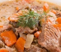 crockpot creamy vegetable beef pot roast recipe