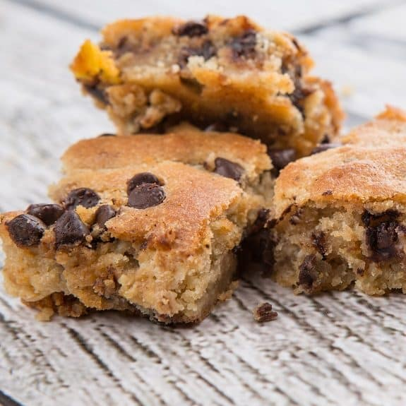 slow cooker chocolate chip bars recipe