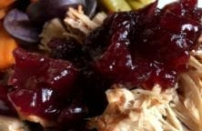 slow cooker cranberry pork loin recipe