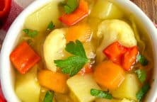 pressure cooker weight loss soup recipe