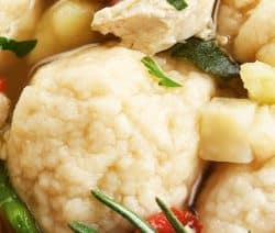 pressure cooker chicken dumplings soup recipe