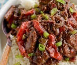 slow cooker spicy beef recipe