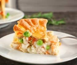 chicken pot pie recipe (instant pot)