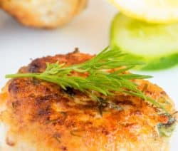Oven Baked Fish Cakes Recipe #fish #cakes #seafood #homemade #oven #dinner #delicious #easy
