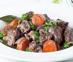 slow cooker beef and vegetable stew recipe
