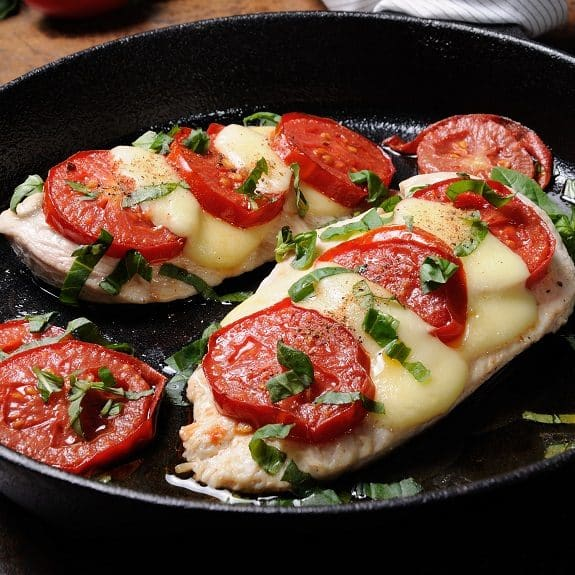easy chicken caprese recipe